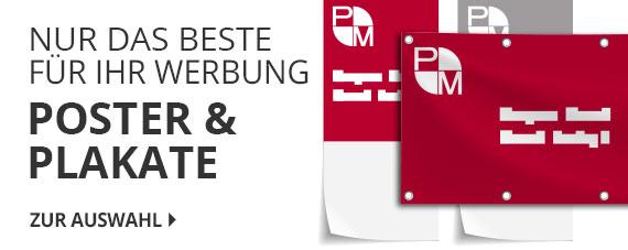 Werbebotschaften mit den Lösungen rund um Ihre Werbung von P&M Pforzheim